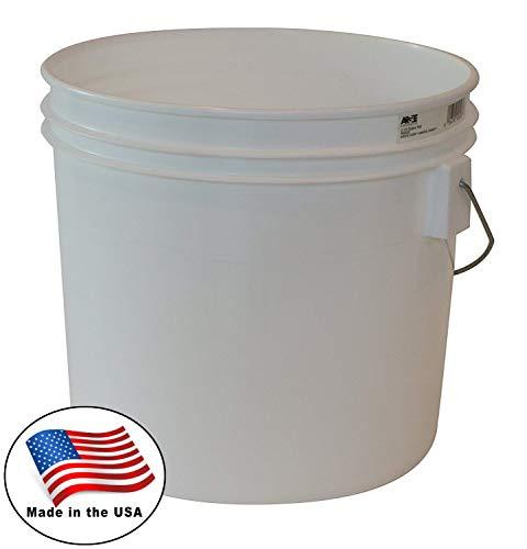 Argee RG503/10 Bucket, 3.5 Gallon, White ()
