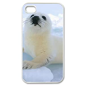 Pets & Animals Case For iPhone 4/4s White Nuktoe261287
