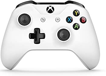 Microsoft Xbox One S Wireless Controller (White)