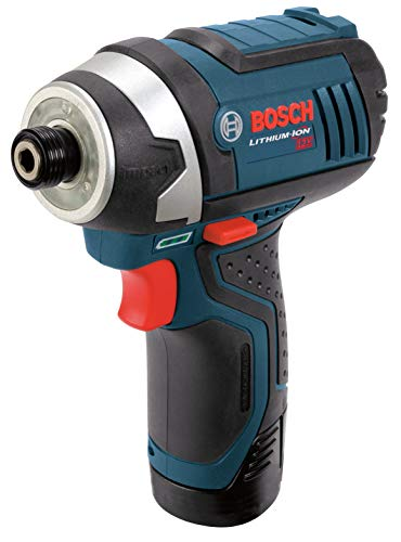 Bosch PS41-2A 12V Max 1/4-Inch Hex Impact Driver Kit with 2 Batteries, Charger and Case