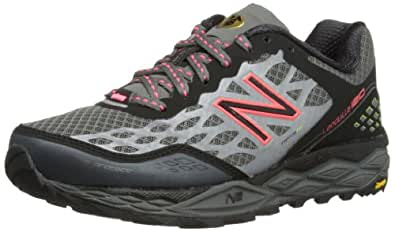 New Balance Women's WT1210 Trail Running Shoe, Size: 7 Width: B Color: Black/Silver/Red