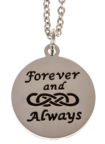 Forever Always Infinity Stainless Necklace