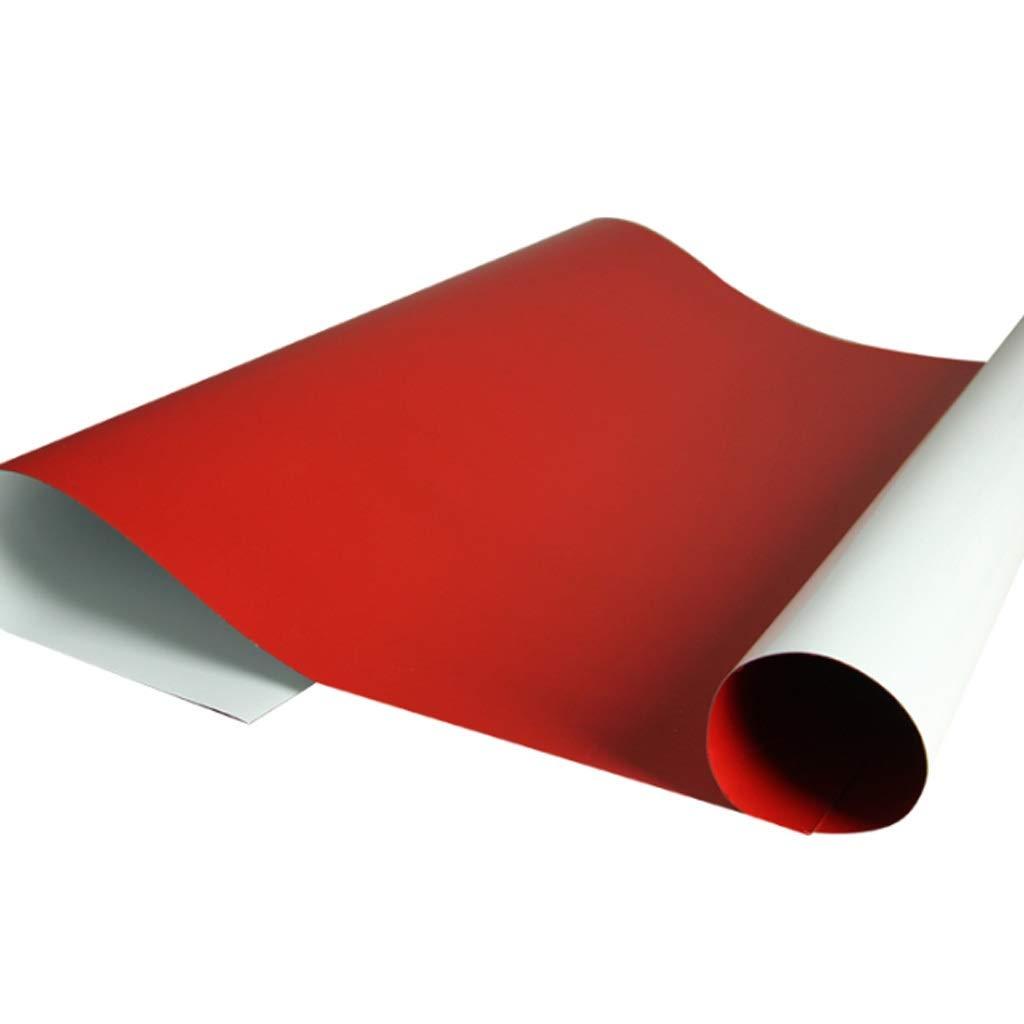 Kaiyu Magnetisches weiches Weißboard-Wandaufkleber-Set, biegbar, adsorbierbares weichmagnetisches Weißboard, kann geschnitten Werden, selbstklebend (Größe   60  90cm)