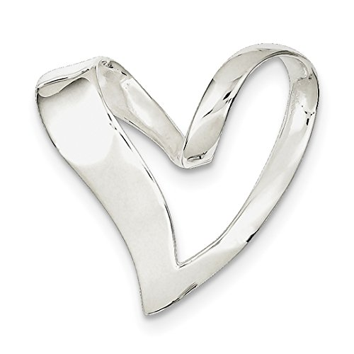 ICE CARATS 925 Sterling Silver Heart Slide Omega Fine Jewelry Ideal Mothers Day Gifts For Mom Women Gift Set From Heart Slide Pendant Set