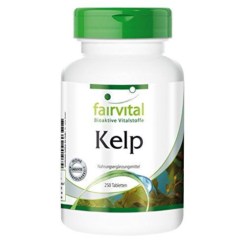 Kelp (natürliche Quelle für Jod mit 150 mcg Jod), 250 vegetarische Tabletten