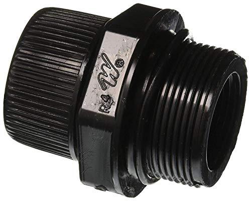 Waterway 500-5300 Swimming Pool Filter Drain Fitting Plug w/O-Ring, Cap 505-2030 and Gasket 500-5300B