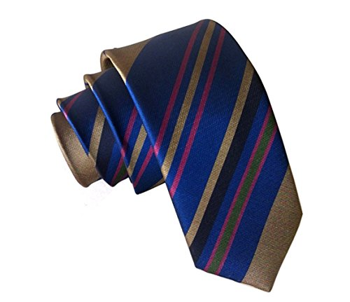 light blue and brown tie - 2