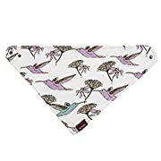 Milkbarn Organic Cotton Kerchief Bib Hummingbird