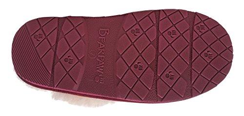 Women's Ii Loki BEARPAW Slide Slipper Bordeaux ZFqndfEa