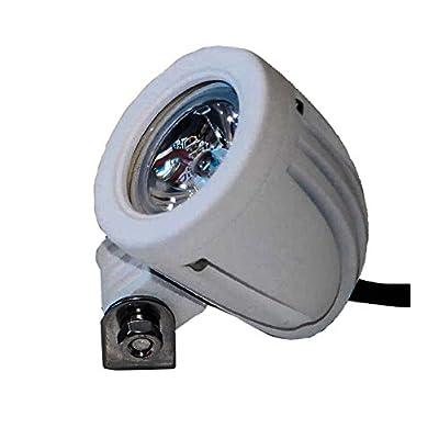 OZ-USA White Mini High Output LED Marine Lights Spot Sail Boat Jet Yacht.: Automotive