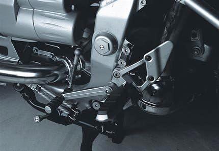 Fahrer Fu/ßrastentieferlegung verstellbar 40mm tiefer ABE f/ür BMW R1150RT
