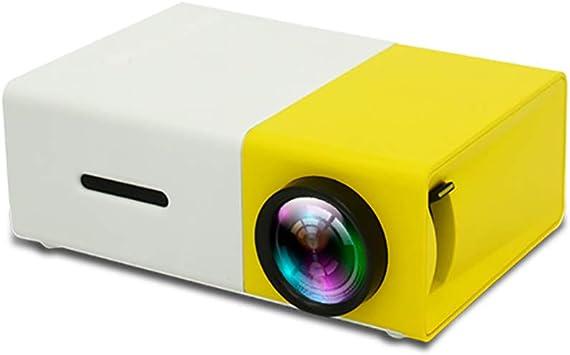 YONGCHY Mini Proyector, Stick USB Portátil USB del Ordenador Portátil LED De La Ayuda del Proyector PC/SD/AV/Entrada HDMI para Vídeo/Película/Juego/Home Theater Proyector De Vídeo: Amazon.es: Electrónica