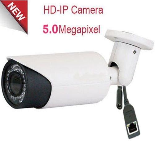 Amview 5 Megapixel 2592 x 1920 Pixel Super HD 1920P Outdoor PoE 120FT Night Vision Weatherproof Security IP Camera with 2.8-12mm Varifocal Zoom Len Review