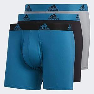 adidas Climalite Boxer Briefs Underwear (3-Pack) Underwear