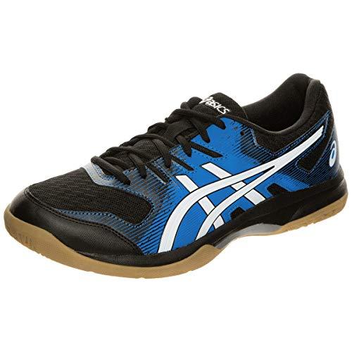 ASICS Herren 1071A030-002_39 Volleyball Shoes, Schwarz Blau Verzeichnis, EU