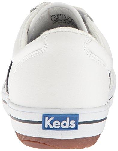 Keds Dames Rage Ii Lederen Fashion Sneaker Wit