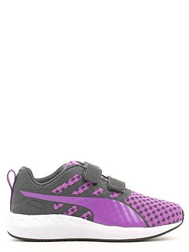 Puma KDS FLARE V Zapatillas Sneakers Purpura Negro para Bebe