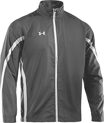 Under Armour Essential chaqueta Warmup para hombre Graphite/White