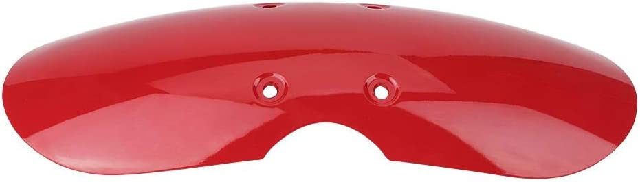 Red EBTOOLS Motorcycle Dirt Guard,Accessories Short Front Mudguard Cover Guard Fit for T100 2001-2016