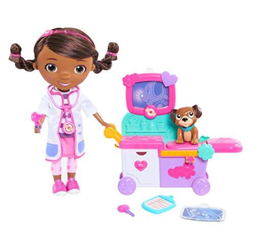 Just Play Doc McStuffins Magic Talking Doc & Care Cart ()