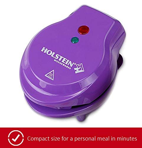 Holstein Housewares HM-09109P Personal Griddle - Purple