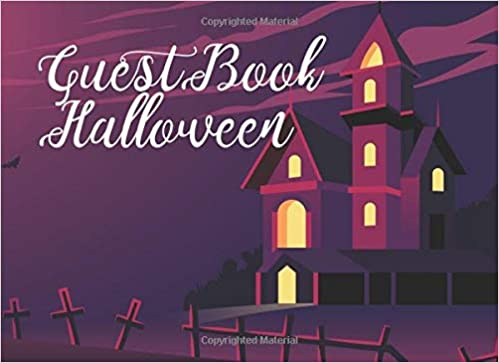 guest book halloween sign in books for halloween party party guest