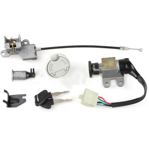 X-PRO Ignition Switch Key Set for GY6 50cc 150 cc Scooters Moped Roketa Taotao Jonway ()