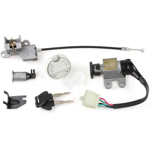 (X-PRO Ignition Switch Key Set for GY6 50cc 150 cc Scooters Moped Roketa Taotao Jonway)