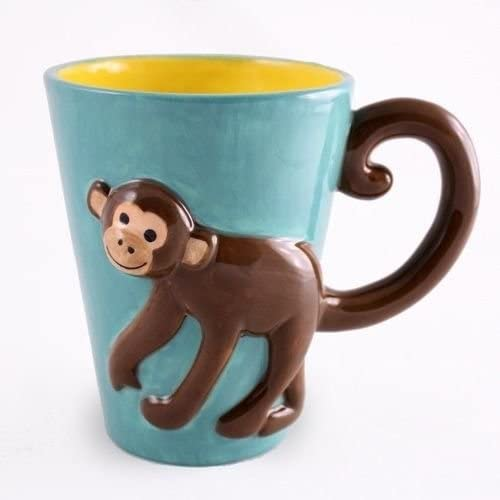 Amazon Com Monkey 3d Ceramic Coffee Cup Monkey Coffee Mug Coffee Cups Mugs