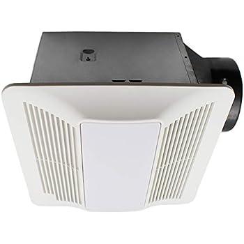 Esd Tech Quiet Bathroom Exhaust Fan Light Combo With