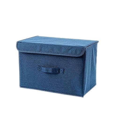 ABBY CHAMBERS Foldable Fabric Storage Box Cube Clothe Storage Baskets Folding Closet Drawer Dual Handles,A1