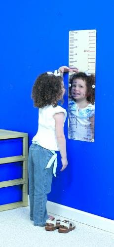 Children's Factory Measure Me Mirror Classroom Furniture (CF332-134)