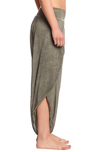 Abbino - Pantalón - para mujer Khaki Grün