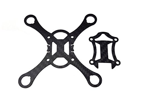 usmile Kingkong Smart100 Super lightweight 100mm Micro Brushed Carbon Fiber Quadcopter Frame for Mini Micro Nano fpv racing support for 820 8.520mm motor