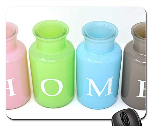 Mouse Pads - Home at Home Vases Colorful Glass Decoration 4