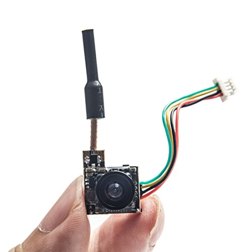 Quad Band Headset - Wolfwhoop WT07 Micro 5.8GHz 25mW FPV Transmitter and 600TVL Camera with OSD Interface for FPV Quadcopter Drone