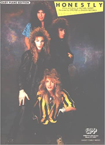 Honestly (Stryper) - Easy Piano Sheet Music: Words and Music