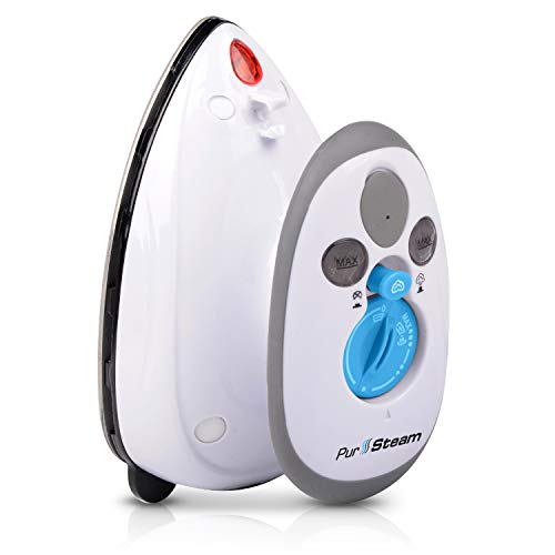 PurSteam Travel Steam Iron Dual Voltage 420W Power...