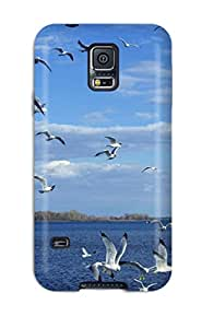 Cassandra Craine's Shop Discount Birds On Sea Fashion Tpu S5 Case Cover For Galaxy