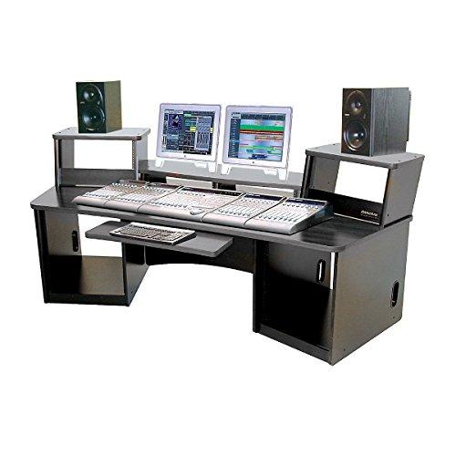 Omnirax Force 36 Audio/Video Workstation Black