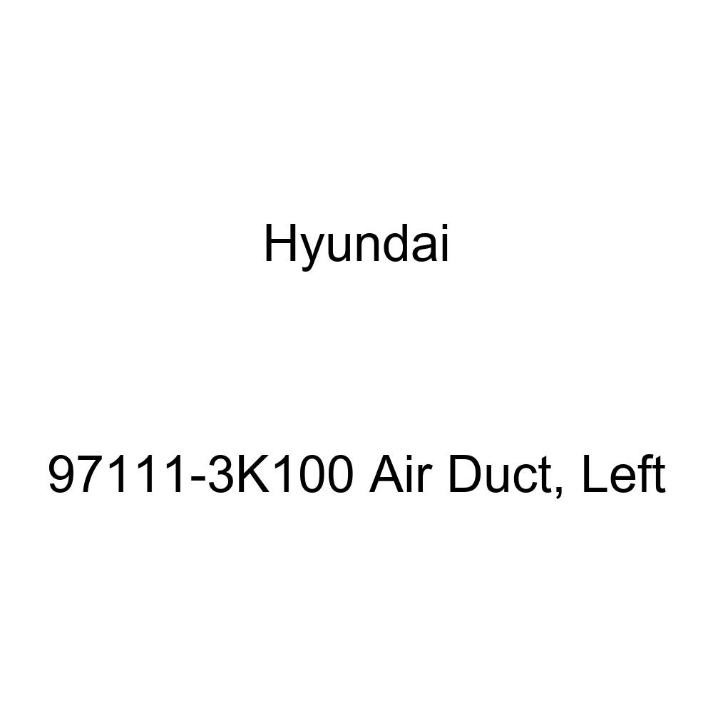 Left Genuine Hyundai 97111-3K100 Air Duct