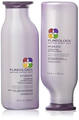 Pureology Hydrate Shampoo and Conditioner Set, 8.5 oz