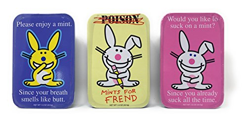 Happy Bunny It's Mints, Pack of 3