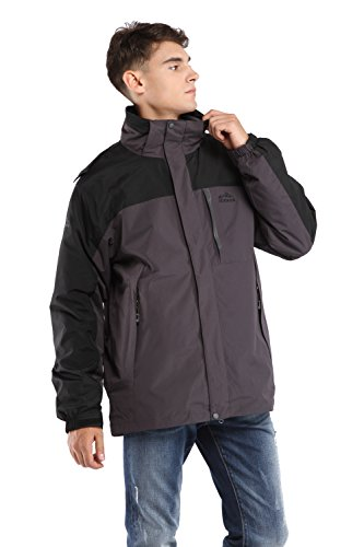 CHAREX Waterproof Windproof Softshell Removable