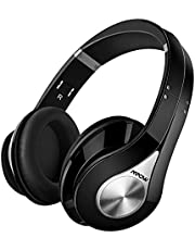Mpow 059 Bluetooth Headphones, Over-Ear Wireless Headphone, Soft Memory-Protein Earmuffs Wireless Headset, Foldable, Hi-Fi Stereo Sound, Built-in Mic Wired Mode PC/Cell Phones/TV