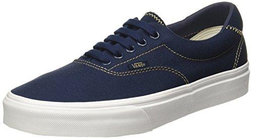 Era Mens Shoes (Vans Unisex Era 59 Shoe Fashion Sneaker (9.5 B(M) US Women / 8 D(M) US Men, Dress Blue/Sand))
