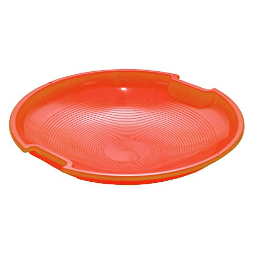 Flexible Flyer Plastic Saucer - 26in (RED-ORANGE) (Red Sled Flyer)