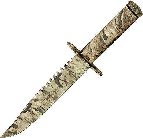 SZCO Supplies Desert Camo Survival Knife
