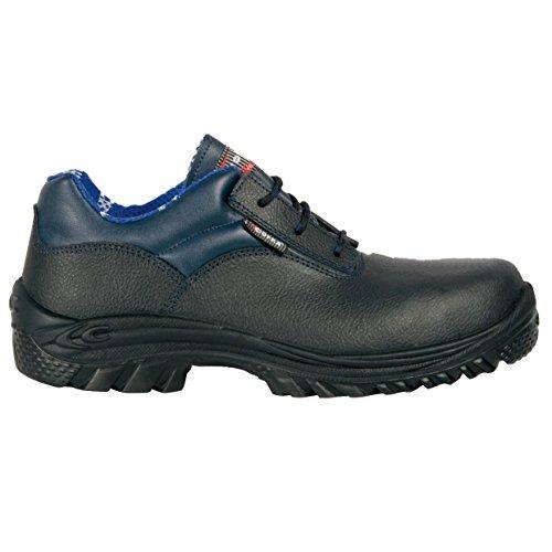 S3 63801 de Bleu Chaussure 44 W44 000 SRC sécurité Cofra Taille Belgrade Noir wTSxR6qwZ