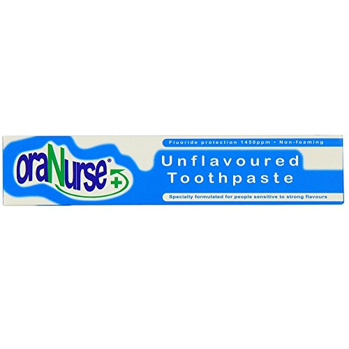 (Oranurse 50ml Unflavoured Toothpaste )